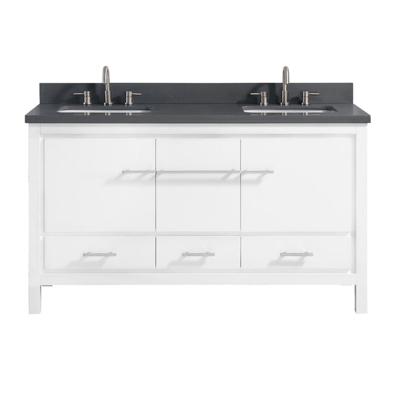 Riley 61 in. Vanity White