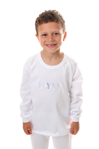 Personalised Name Pyjamas - Long Sleeve Set