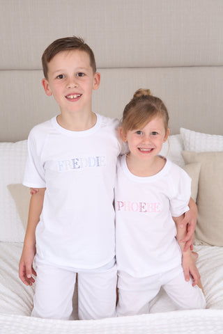 Personalised Name Pyjamas - Short Set
