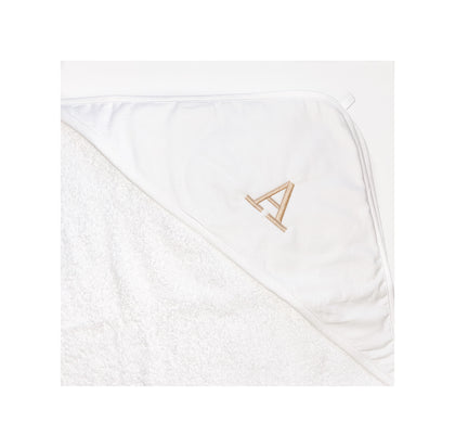 Initial Baby Hooded Towel