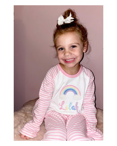 Rainbow Pyjamas - Candy Stripe Collection