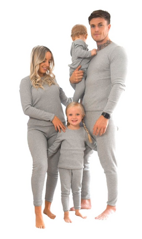 Personalised Adults Unisex Loungewear - Dove Grey