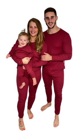 Personalised Adults Unisex Loungewear - Claret Red