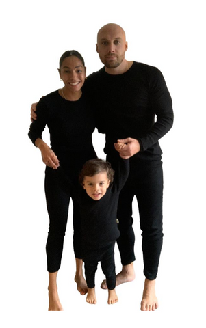 Personalised Adults Unisex Loungewear - Black