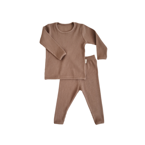 Personalised Biscuit Ribbed Loungewear