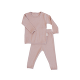 Personalised Mocha Ribbed Loungewear