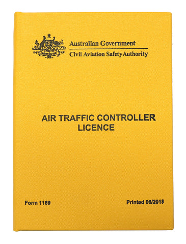 Air Traffic Controller licence wallet