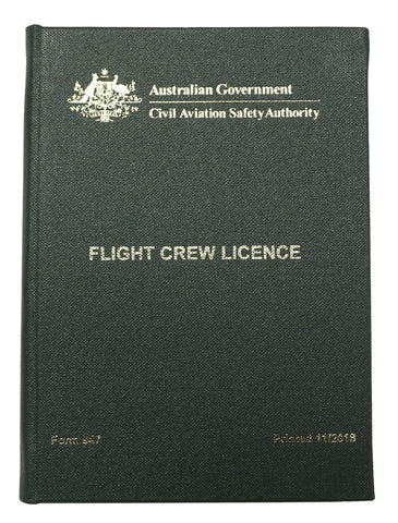 Flight Crew Licensing Wallet