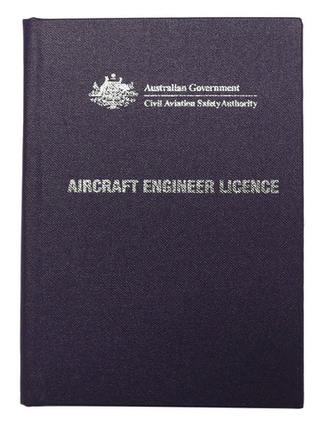 Aircraft Engineer Licence wallet