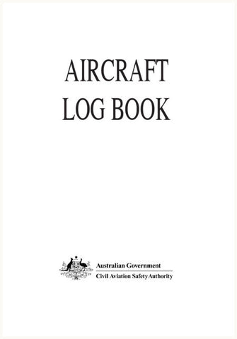 Aircraft log book - CAS918A