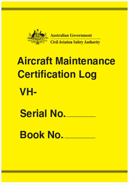 Aircraft maintenance certification log