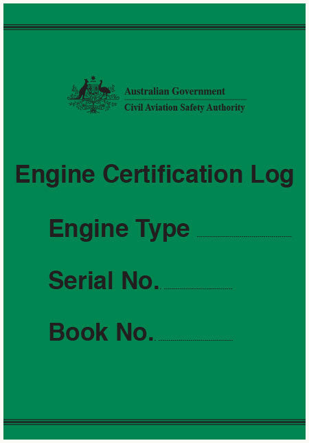 Engine certification log