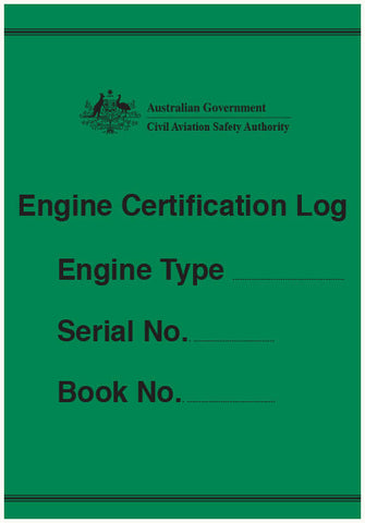 Engine certification log - CAS926