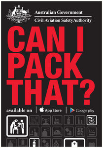 Dangerous goods flyer - Can I pack that?