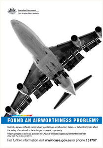 Maintenance poster - Found an airworthiness problem?
