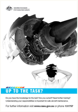 Maintenance poster - 'Up to the task?' - SP124