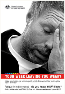 Maintenance poster - Your week leaving you weak