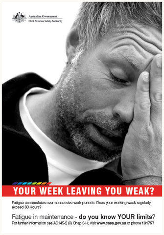 Maintenance poster - 'Your week leaving you weak?' - SP129