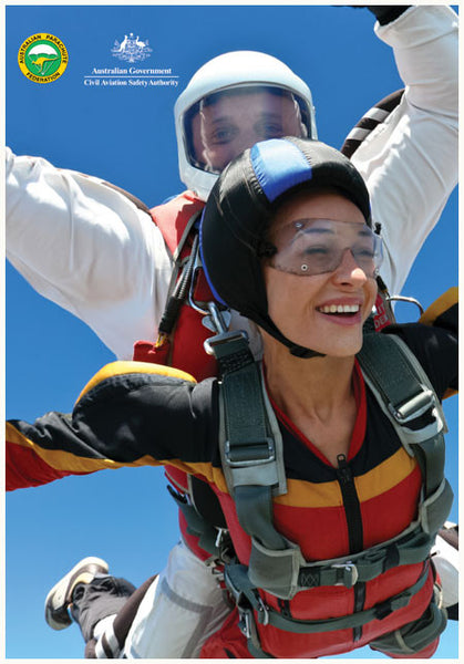 SP137 - Be alert for skydivers