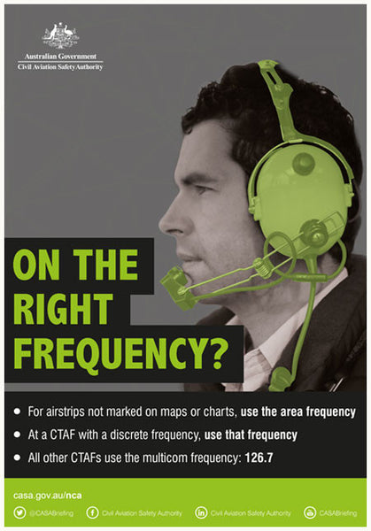 SP164 - 'On the right frequency?' poster