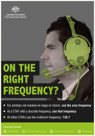 On the right frequency?  poster
