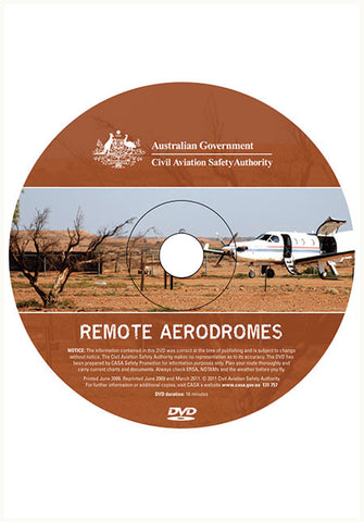 Remote aerodromes - dvd - SP098