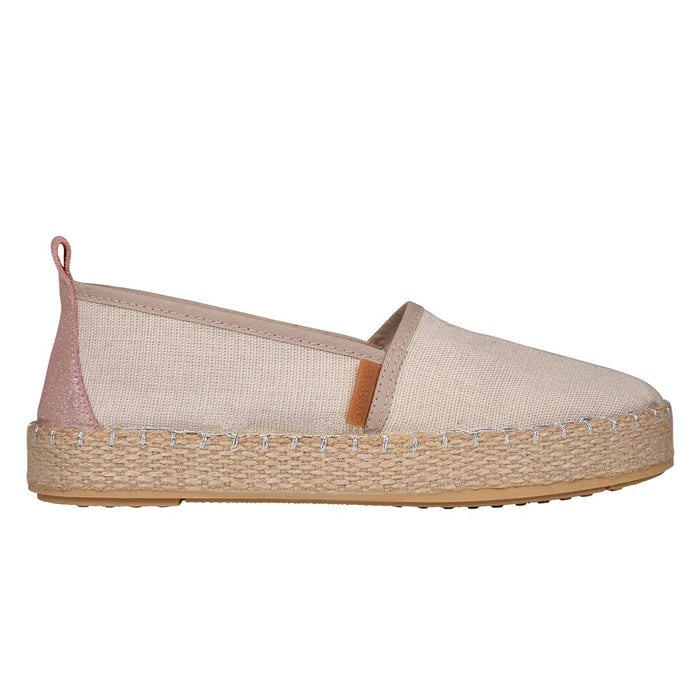 ESPADRILLES FEMME - PADANG/T F2E - TAUPE