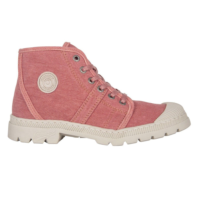 BOOTS FEMME AUTHENTIQUE RECYCLÉE F2F - ROSE