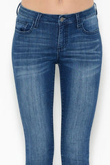 Skinny Jean with Dark Blue Wash
