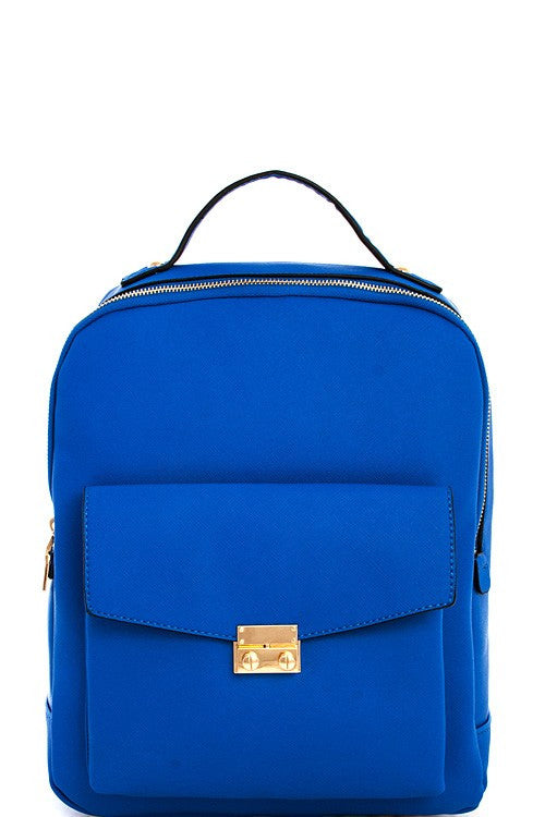 Elegant Modern Blue Backpack