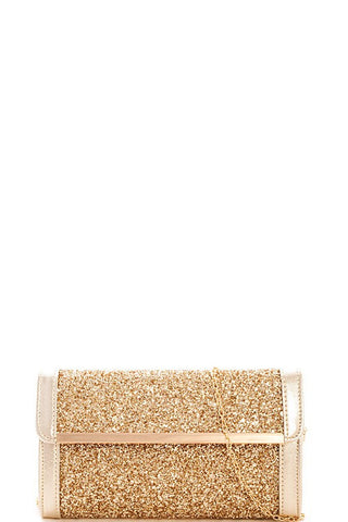 Elegant Gold Evening Clutch