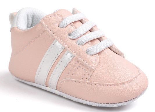 Fashion Pink White Baby Sneaker