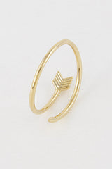 Fashion Gold Arrow Ring