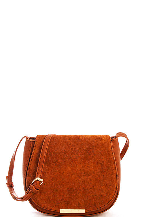 Elegant Tan Princess Messenger Bag