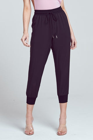 Elegant Black Jagger Pants