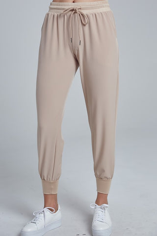 Elegant Light Beige Jagger Pants