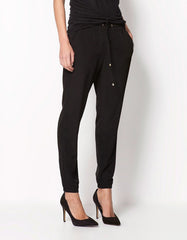 Black Casual Women Pants