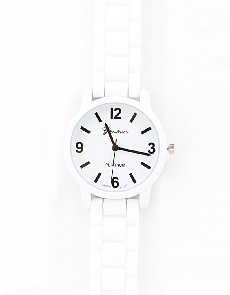 Casual Modern White Watch