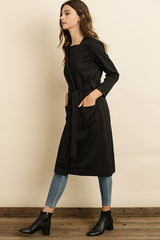 Fashion Style Black Coat