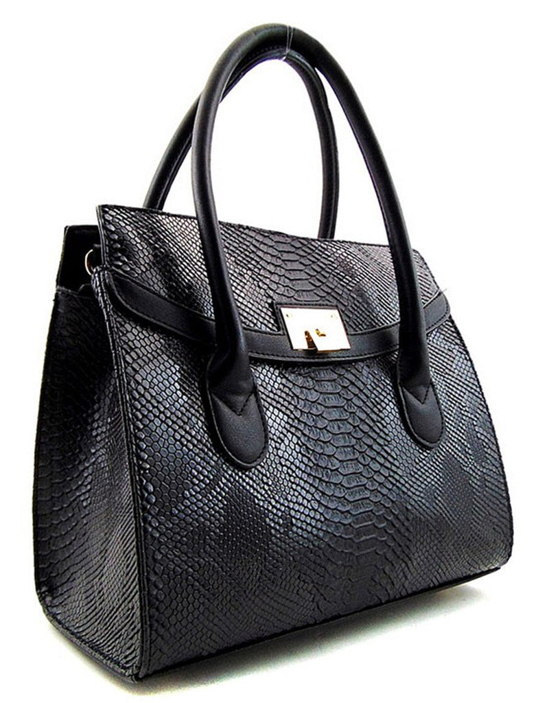 Fashion Black Animal Print Bag