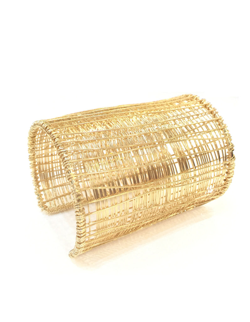 Fashion Experimental Textured Long Cuff Bracelet