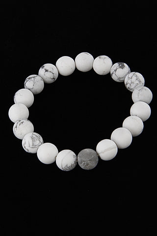Fashion Beaded White Bracelet