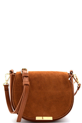 Elegant Tan Princess Messenger Mini Bag