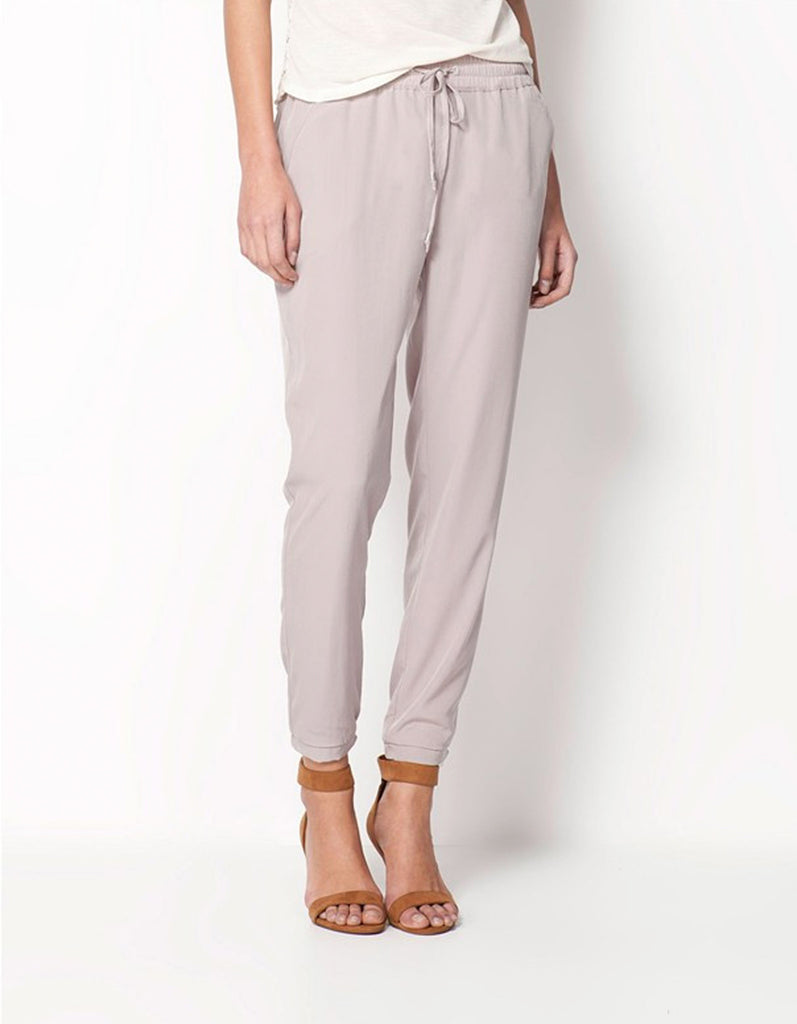 Grey Casual Women Pants