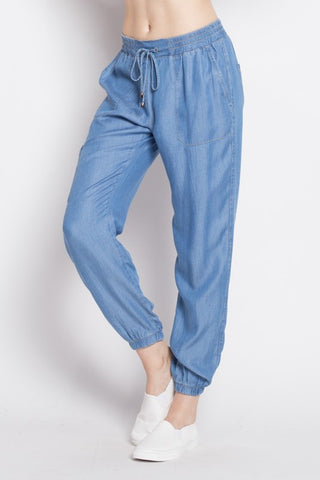 Fashion Casual Denim Cargo Pants
