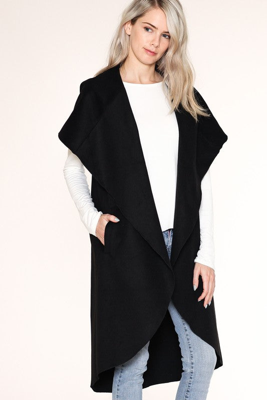 Elegant Black Cape