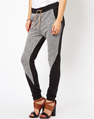 Casual grey sport pants