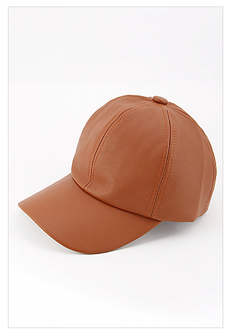 Fashion Classic Brown Baseball Cap