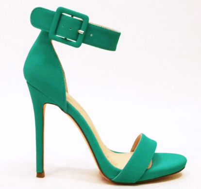 Summer Aqua Sandal with Ankle Strap