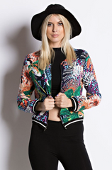 Multi-Color Light Summer Jacket